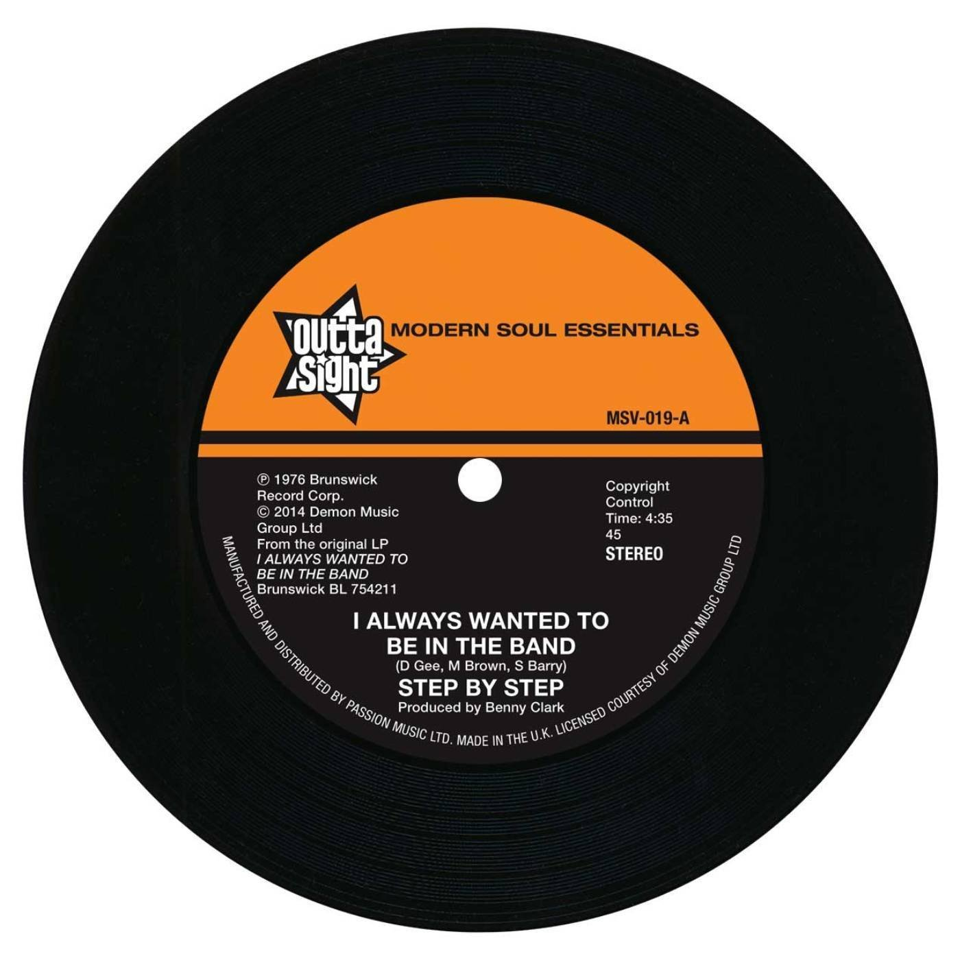 I Always Wanted To Be In The Band / I Ain't Never Gonna Let You Go 7″-0