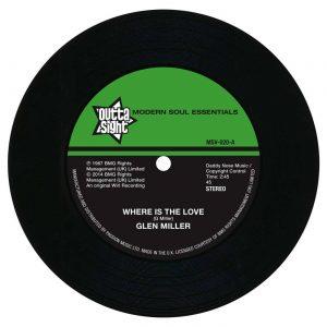 Glen Miller - Where Is The Love / Funky Broadway 45