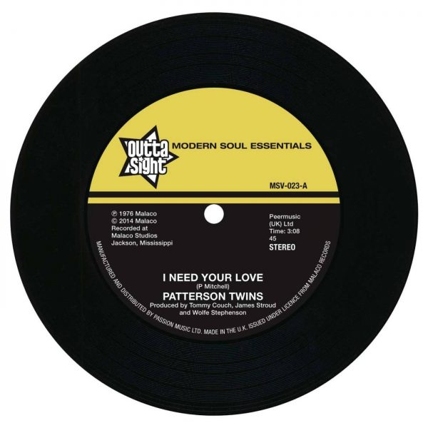 "I Need Your Love / I'm Gonna Love You More 7""-0"