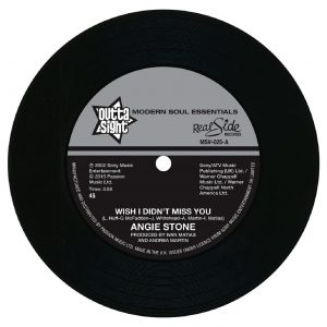 "Angie Stone - Wish I Didn't Miss You / (Hex Hector Remix) 45 (Outta Sight) 7"" Vinyl"