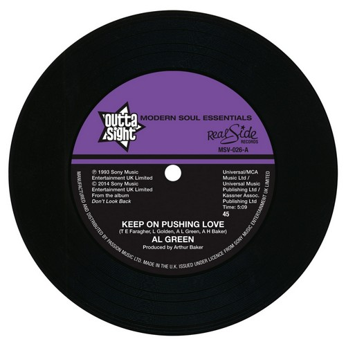 "Keep On Pushing Love / Your Hearts In Good Hands 7""-0"