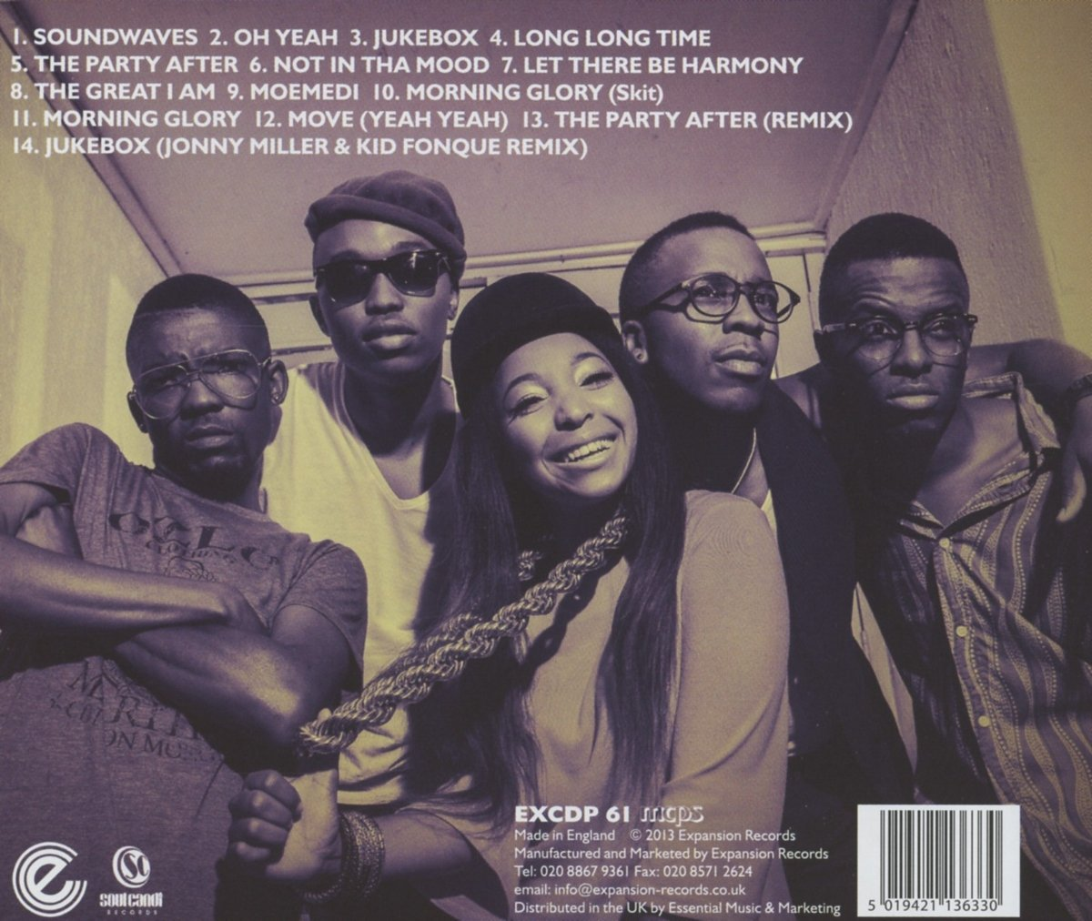 Muzart – Muzart CD (Back)