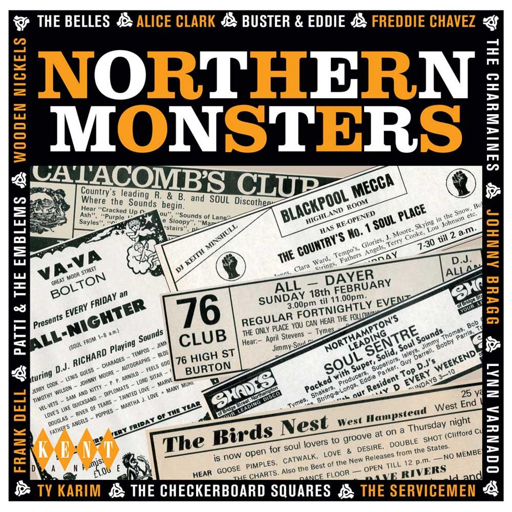 Northern Monsters – Various Artists CD (Kent)