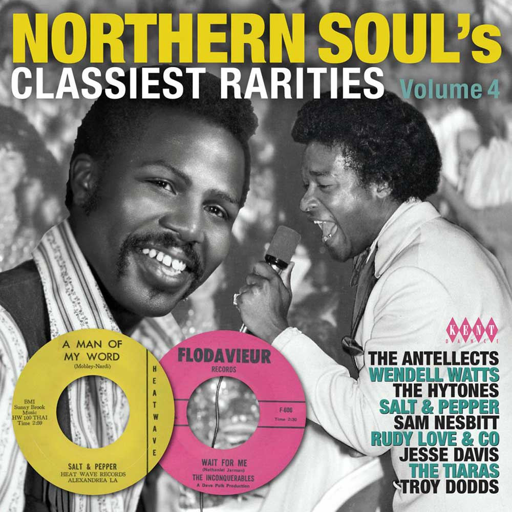 Northern Soul's Classiest Rarities Volume 4 – Various Artists CD (Kent)