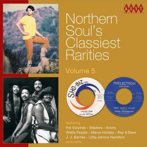 Northern Soul's Classiest Rarities Volume 5 - Various Artists CD (Kent)