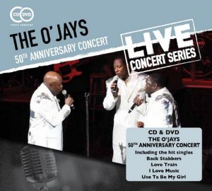 The O'Jays - 50th Anniversary Concert CD+DVD