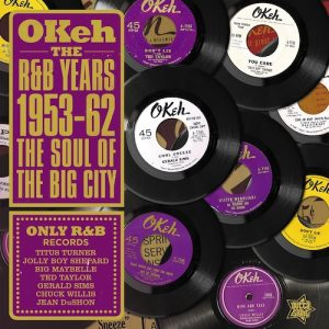 Okeh The R&B Years 1953-62 -The Soul Of The Big City - Various Artists LP Vinyl (Outta Sight)