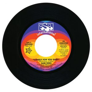 """Lonely For You Baby / (Alternate Version) 7""""-0"""