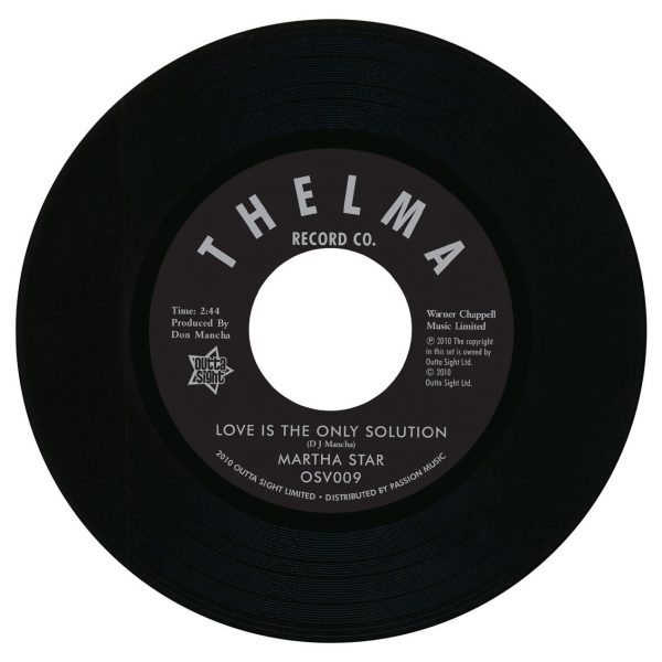 "Love Is The Only Solution / No Part Time Love For Me 7""-0"