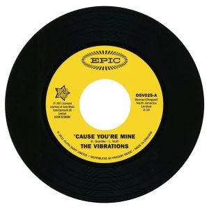 "Vibrations - Cause You're Mine / Follow Your Heart 45 (Outta Sight) 7"" Vinyl"