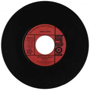 "Love Is Alright / She's Wanted In Three States 7""-0"