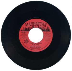 "Danny Owens - I Can't Be A Fool For You / Lydia Marcelle – It's Not Like You 45 (Outta Sight) 7"" Vinyl"