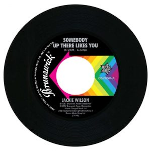 "Jackie Wilson - Somebody Up There Likes You / A Lovely Way To Die 45 (Outta Sight) 7"" Vinyl"
