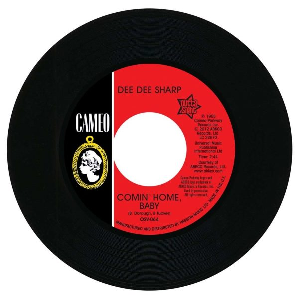 """Dee Dee Sharp - Comin' Home Baby / Standing In The Need Of Love 45 (Outta Sight) 7"""" Vinyl"""