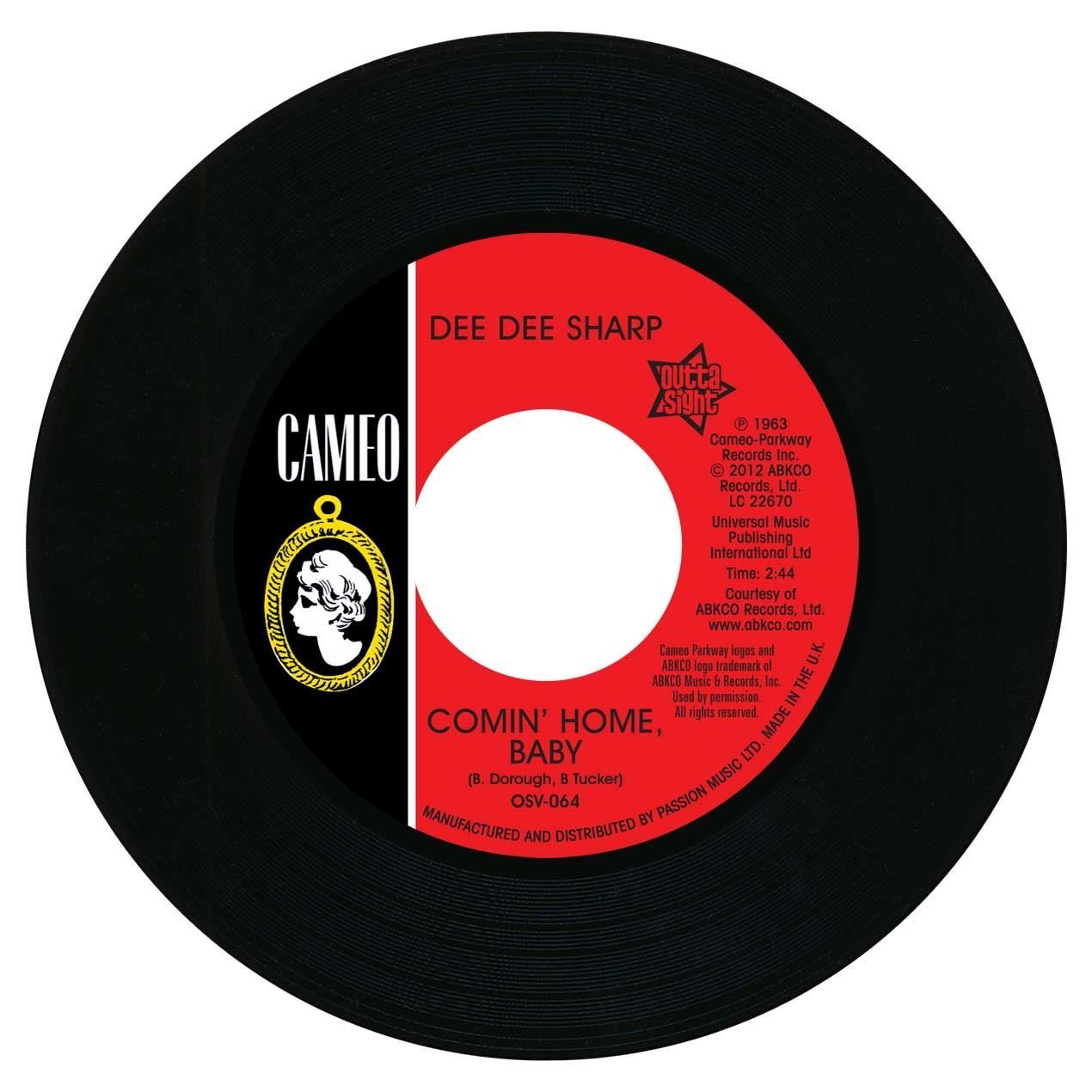 Dee Dee Sharp – Comin' Home Baby / Standing In The Need Of Love 45 (Outta Sight) 7″ Vinyl