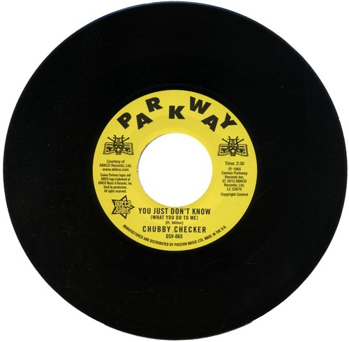 """Chubby Checker - You Just Don't Know (What You Do To Me) / (At The) Discotheque 45 (Outta Sight) 7"""" Vinyl"""