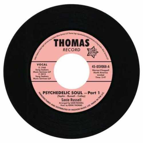"Psychedelic Soul Part 1 / Psychedelic Soul Part 3 7""-0"