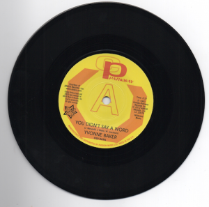 Yvonne Baker - You Didn't Say A Word DEMO 45