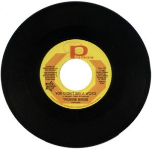 "Yvonne Baker - You Didn't Say A Word / Hattie Winston - Pictures Don't Lie 45 (Outta Sight) 7"" Vinyl"
