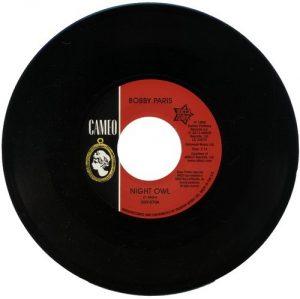 "Bobby Paris - Night Owl / Tears On My Pillow 45 (Outta Sight) 7"" Vinyl"