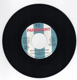 "Frankie Beverly & The Butlers - Because Of My Heart / I Want To Feel I'm Wanted 45 (Outta Sight) 7"" Vinyl"