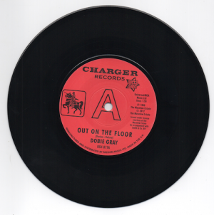 Dobie Gray - Out On The Floor / The 'In' Crowd DEMO 45