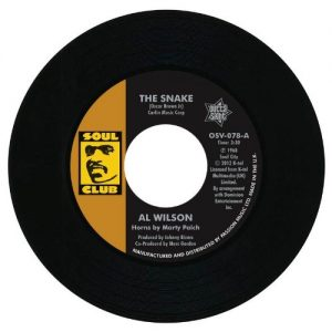 """Al Wilson - The Snake / Show And Tell 45 (Outta Sight) 7"""" Vinyl"""