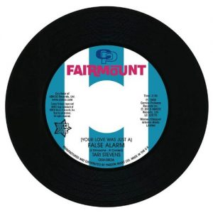 "Tari Stevens - (Your Love Was Just A) False Alarm / Bonnie & Lee – The Way I Feel About You 45 (Outta Sight) 7"" Vinyl"