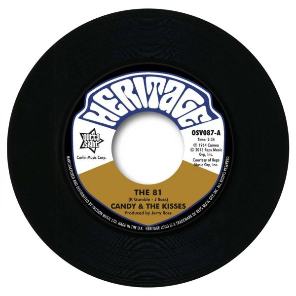 Candy & The Kisses - The 81 / Fathers Angels - Bok To Bach 45