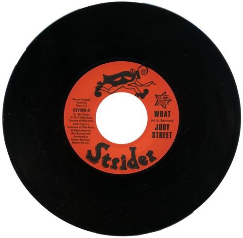 "Judy Street - What / Tina Mason - What 45 (Outta Sight) 7"" Vinyl"