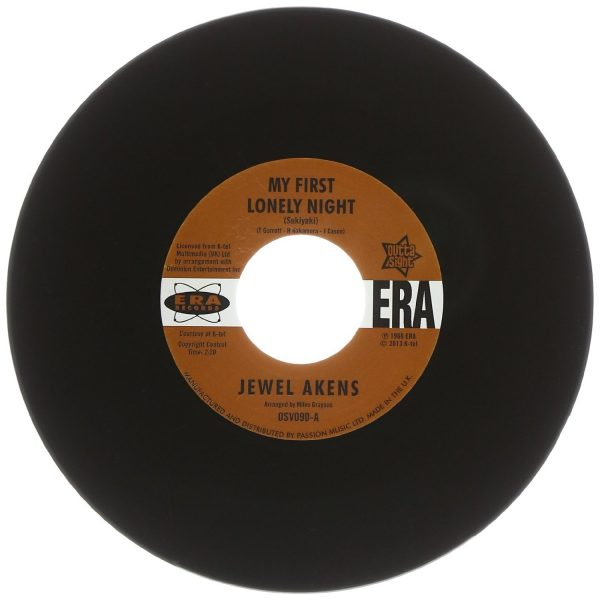 """Jewel Akens - My First Lonely Night / A Slice Of The Pie 45 (Outta Sight) 7"""" Vinyl"""