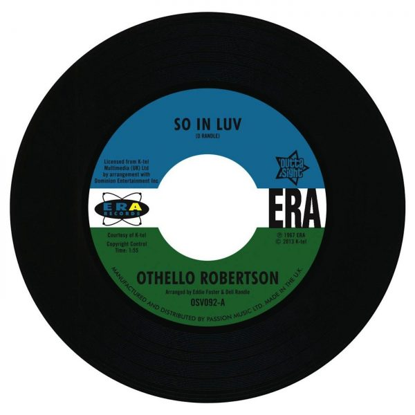 """Othello Robertson - So In Luv / Steve Flanagan - I've Arrived 45 (Outta Sight) 7"""" Vinyl"""