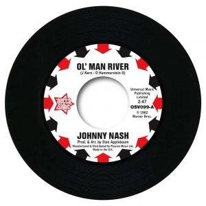 "Johnny Nash - Ol' Man River / I Lost My Baby 45 (Outta Sight) 7"" Vinyl"
