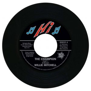"Willie Mitchell - The Champion / Bill Black's Combo - Little Queenie 45 (Outta Sight) 7"" Vinyl"