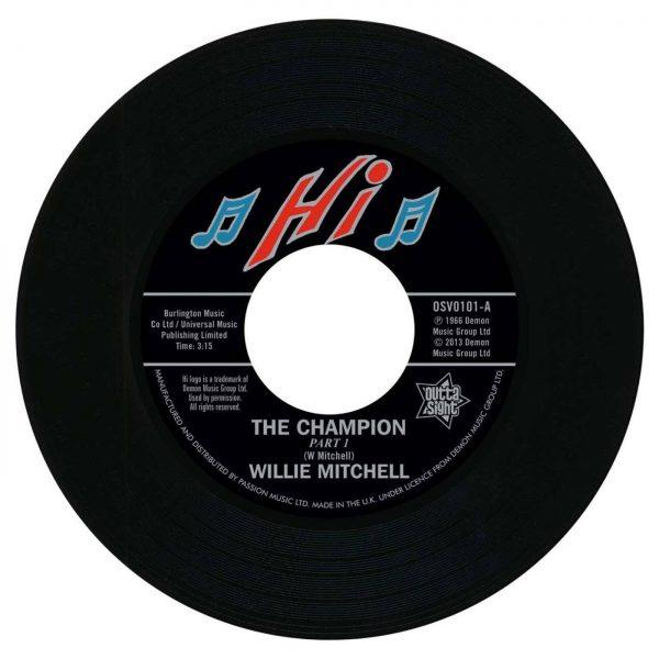 "Willie Mitchell - The Champion / Bill Black's Combo - Little Queenie 45 (Outta Sight) 7"" Vinyl"