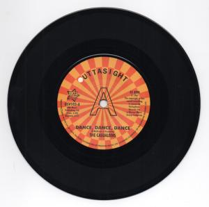 "Casualeers - Dance Dance Dance / Chuck Wood - Seven Days Too Long DEMO 45 (Outta Sight) 7"" Vinyl"