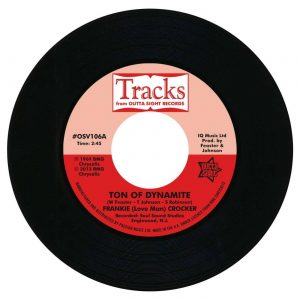 "Frankie Crocker - Ton Of Dynamite / Willie & The Mighty Magnificents - Funky 8 Corners 45 (Outta Sight) 7"" Vinyl"