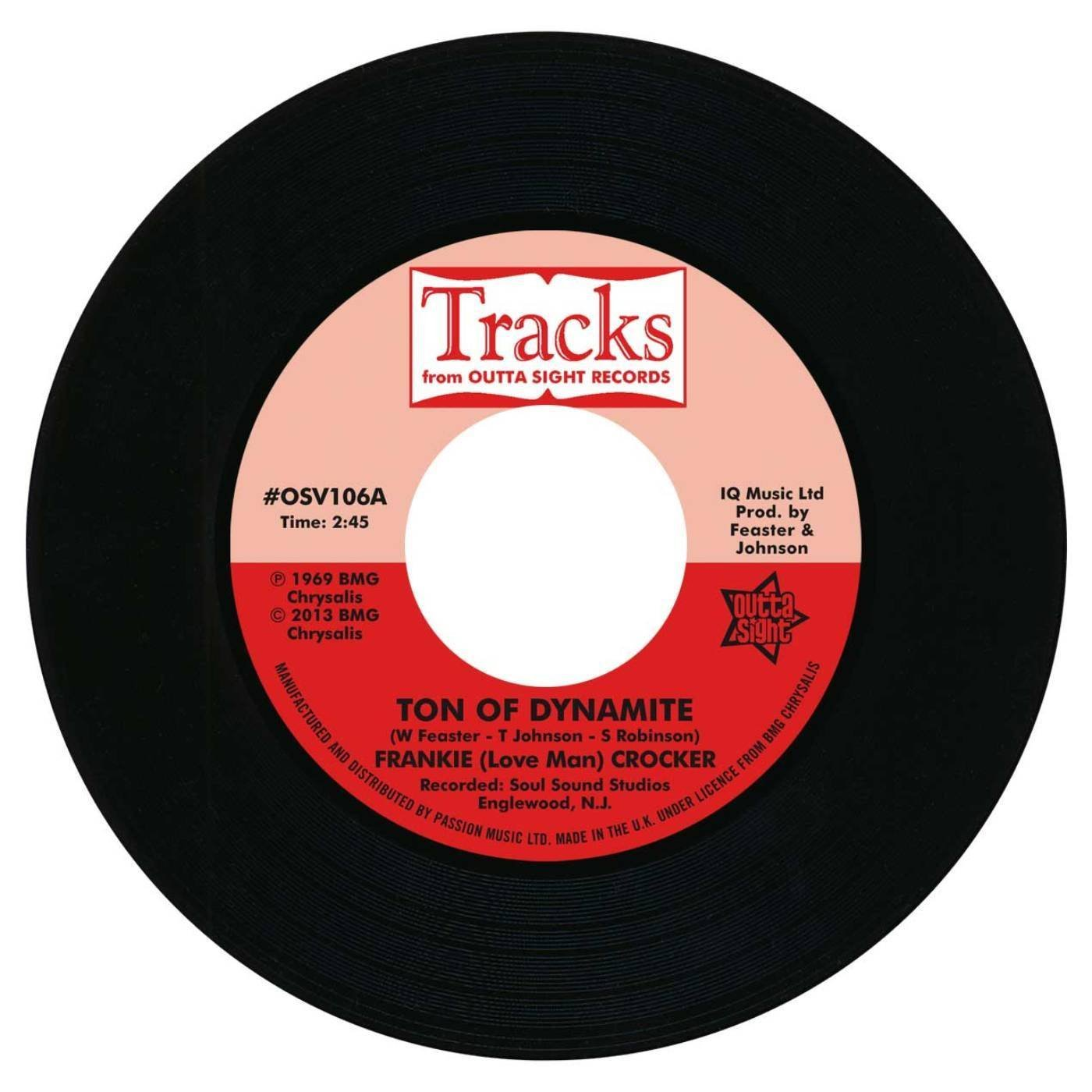 Frankie Crocker – Ton Of Dynamite / Willie & The Mighty Magnificents – Funky 8 Corners 45 (Outta Sight) 7″ Vinyl