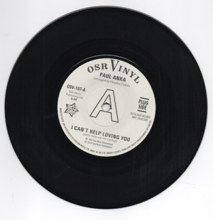 Paul Anka - I Can't Help Loving You / When We Get There DEMO 45