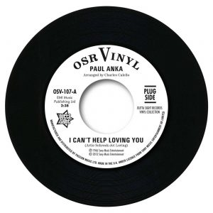 "Paul Anka - I Can't Help Loving You / When We Get There 45 (Outta Sight) 7"" Vinyl"