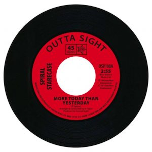 "Spiral Starecase - More Today Than Yesterday / Baby What I Mean 45 (Outta Sight) 7"" Vinyl"