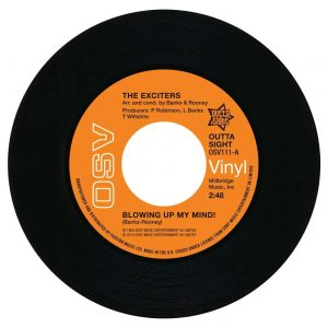 """The Exciters - Blowing Up My Mind / Turn Me On 45 (Outta Sight) 7"""" Vinyl"""
