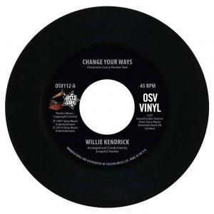 """Willie Kendrick - Change Your Ways / What's That On Your Finger 45 (Outta Sight) 7"""" Vinyl"""