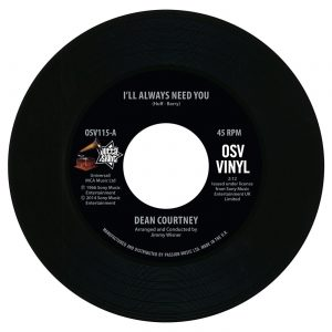 """Dean Courtney - I'll Always Need You / Today Is My Day 45 (Outta Sight) 7"""" Vinyl"""