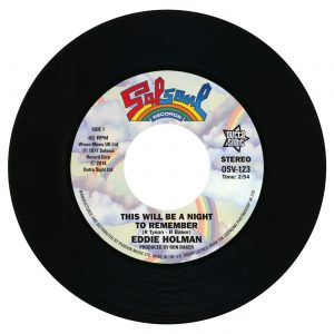 "Eddie Holman - This Will Be A Night To Remember / Double Exposure - Ten Percent 45 (Outta Sight) 7"" Vinyl"