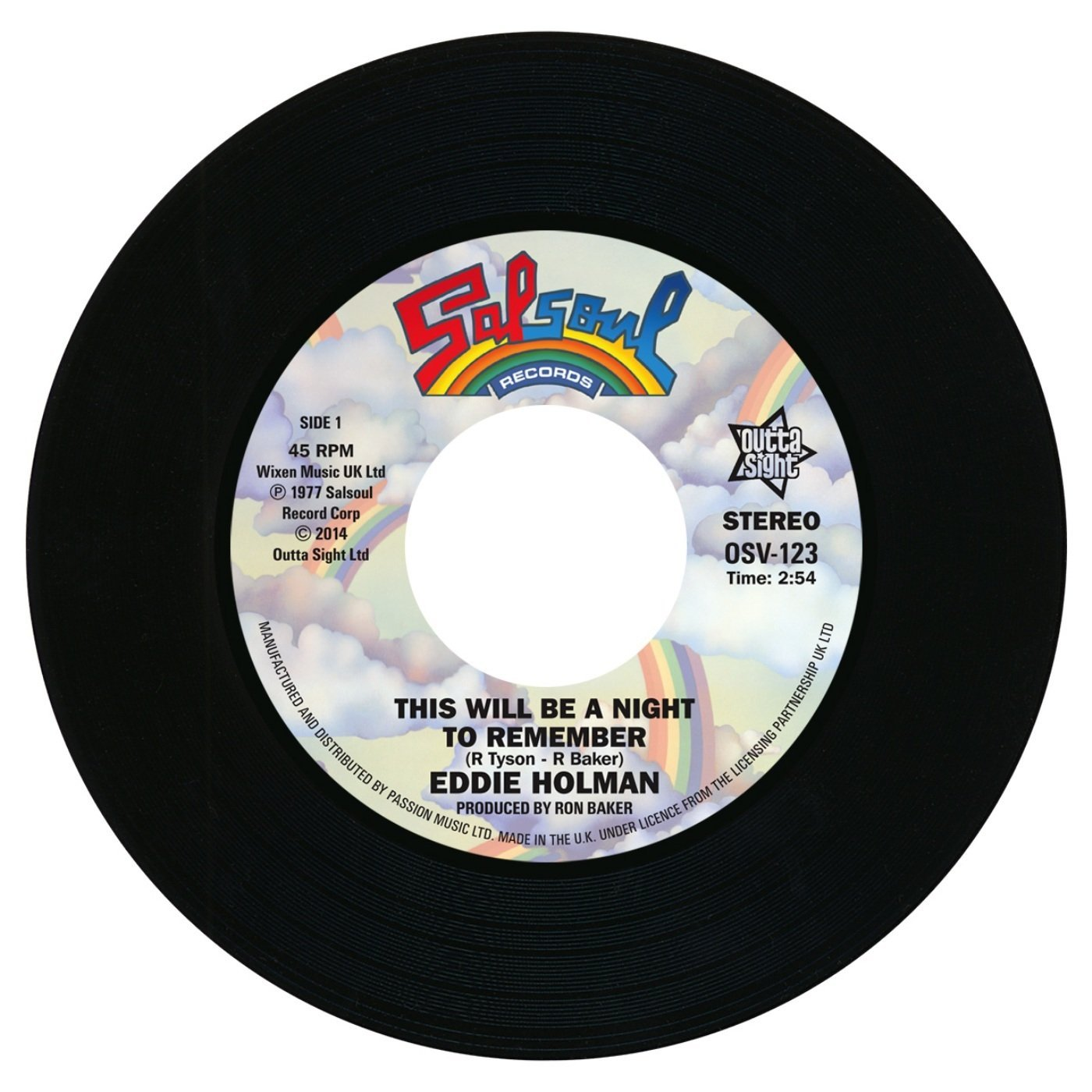 Eddie Holman – This Will Be A Night To Remember / Double Exposure – Ten Percent 45