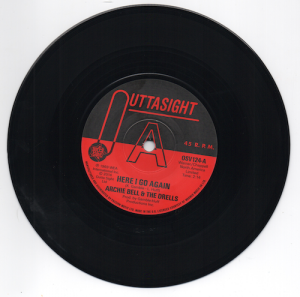 "Archie Bell & The Drells - Here I Go Again / Tighten Up DEMO 45 (Outta Sight) 7"" Vinyl"