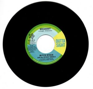 "Mitch Ryder & The Detroit Wheels - Breakout / You Get Your Kicks 45 (Outta Sight) 7"" Vinyl"