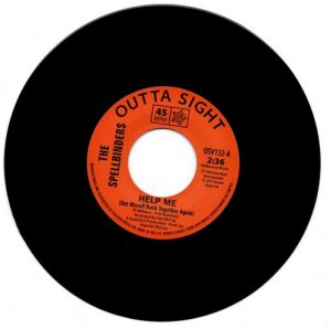 """The Spellbinders - Help Me / Chain Reaction 45 (Outta Sight) 7"""" Vinyl"""