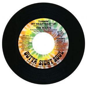 "M.V.P's - Turnin' My Heartbeat Up 45 (Outta Sight) 7"" Vinyl"